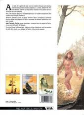 Verso de Les pionniers du Nouveau Monde -3- Le champ d'en haut