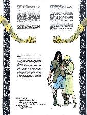 Verso de Thorgal -3'- Les trois vieillards du pays d'Aran