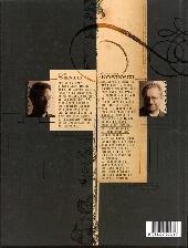 Verso de La vengeance du Comte Skarbek -1- Deux mains d'or