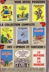 Verso de Spirou et Fantasio -8- La mauvaise tête