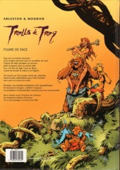 Verso de Trolls de Troy -7- Plume de sage