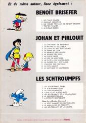 Verso de Les schtroumpfs -2Total1- Le Schtroumpfissime