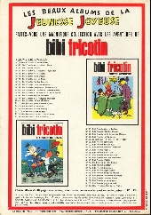 Verso de Les pieds Nickelés (3e série) (1946-1988) -12c- Les Pieds Nickelés font fortune