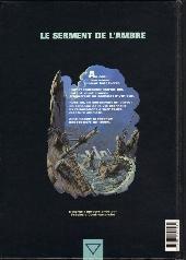 Verso de Le serment de l'Ambre -5- Tichit