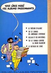 Verso de Tif et Tondu -6- Passez muscade