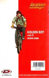Verso de Golden Boy -5- vol 5