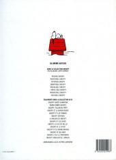 Verso de Peanuts -6- (Snoopy - Dargaud) -8- Ineffable Snoopy