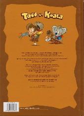 Verso de Tuff et Koala -1- Le secret de la vallée maudite