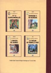 Verso de Radock I - Les aventures de Tintoin - L'ydille noire