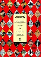 Verso de Dan Cooper (Hors Série) -1- Mystères et secrets