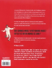 Verso de Pierre Desproges en BD - Françaises, Français, Belges, Belges, Lecteur chéri, mon amour !