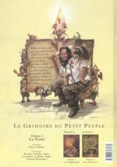 Verso de Le grimoire du petit peuple -2- La forêt