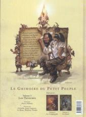 Verso de Le grimoire du petit peuple -3- Les tavernes
