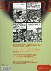 Verso de Amiante - Chronique d'un crime social