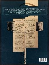 Verso de La vengeance du Comte Skarbek -2- Un cœur de bronze
