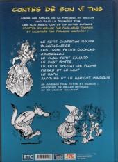 Verso de (AUT) Walthéry -6- Contes dè bon vî tins