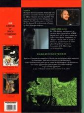 Verso de Spirou et Fantasio (Une aventure de / Le Spirou de...) -1- Les géants pétrifiés
