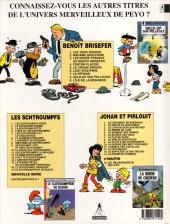 Verso de Benoît Brisefer -9- L'île de la désunion