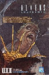 Verso de Aliens (Wetta) -10- Labyrinth - Hive Ten