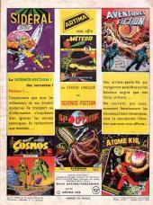Verso de Météor (1re Série - Artima) -60- Le satellite