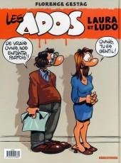Verso de Les ados -1- Laura et Ludo