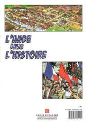 Verso de Dans l'Histoire -3- L'Aude dans l'Histoire