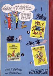 Verso de Spirou et Fantasio -4- Spirou et les héritiers
