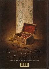 Verso de La licorne -1- Le Dernier Temple d'Asclépios