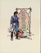 Verso de Blueberry -6- L'homme à l'étoile d'argent