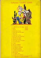 Verso de Lucky Luke -23- Les Dalton courent toujours