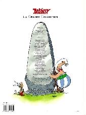 Verso de Astérix (La grande collection) -1- Astérix le gaulois