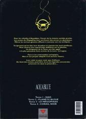 Verso de Aquablue -4- Corail noir