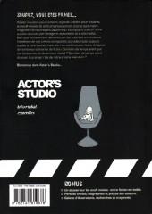 Verso de Actor's studio - Rose rouge