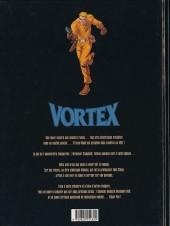 Verso de Vortex -8- Tess Wood & Campbell - 8