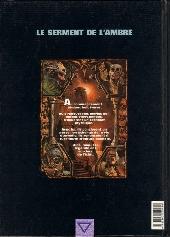Verso de Le serment de l'Ambre -1- L'Amojar