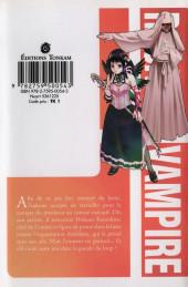 Verso de Rosario+Vampire -8- L'Envers du décor