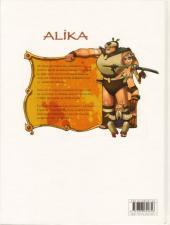 Verso de Alika -1- Les territoires interdits