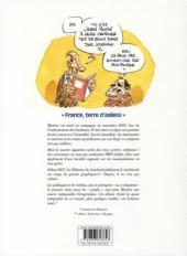 Verso de L'actu tue -2- France, terre d'asiles