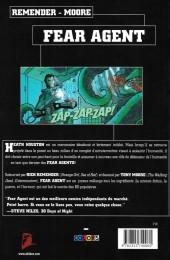 Verso de Fear Agent -1- Re-ignition