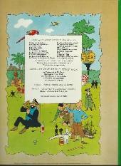 Verso de Tintin (Historique) -11B38- Le secret de la licorne