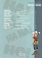 Verso de Les trésors de la bande dessinée -2- Lucky luke - Chasseur de primes