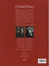 Verso de La légende du Changeling -2- Le croque-mitaine