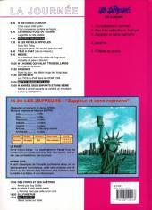 Verso de Les zappeurs -3- Zappeur et sans reproche