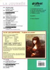 Verso de Les zappeurs -4- Fidèles au poste