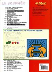 Verso de Les zappeurs -6- La victoire en zappant