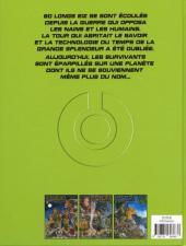 Verso de Les gardiens du Maser -INT1- Trilogie 1