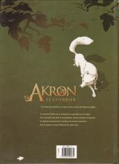 Verso de Akron le guerrier -1- Le Talisman des âmes