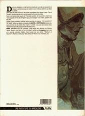 Verso de De silence et de sang -1- La nuit du tueur de loups
