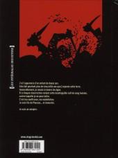 Verso de Je suis un Vampire -INT1- Intégrale - Première partie