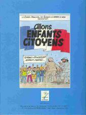 Verso de Allons enfants citoyens